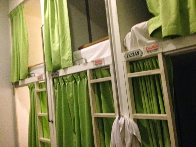 Pod style hostels are a cool way to enjoy a little privacy