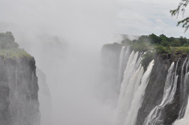 Victoria Falls from Zambian side