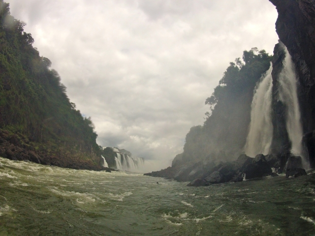 The boat rides are a great way to see the falls up close