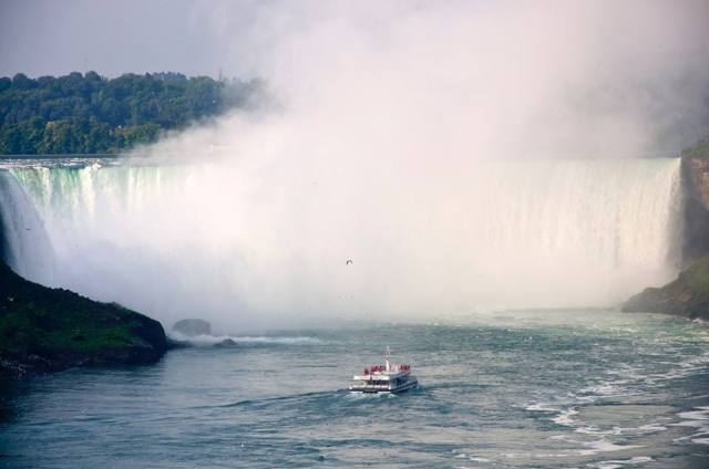 Horseshoe Falls from the Canadian side
